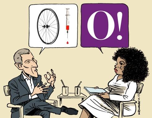 Lance and Oprah