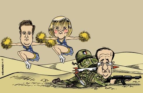 Mali-Hollande.Cameron.Merkel2013