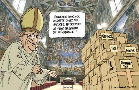 Pape François au Vatican 03.03