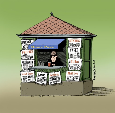 Kiosque à journaux 2013