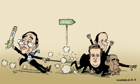 Attack on Assad Aug2013