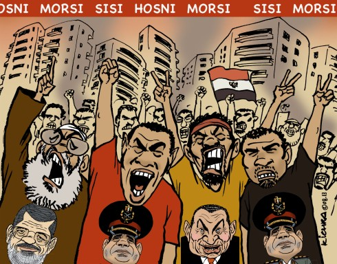 Morsi.Sisi.Hosni