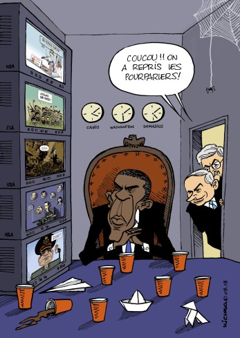 Obama et reprise des pourparlers