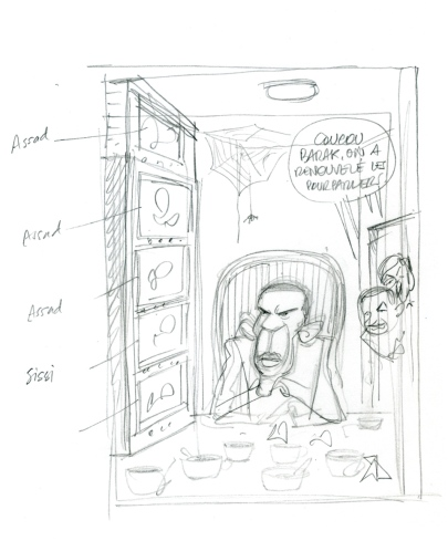 obama sketch