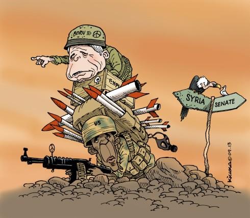 Obama Mc Cain Syria 09.13