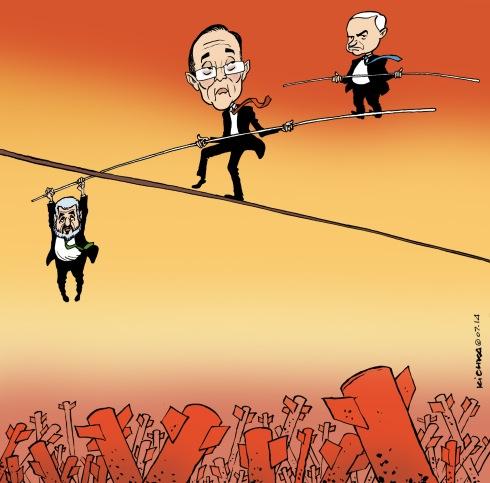 Ban Ki Moon Israel Gaza 07.14