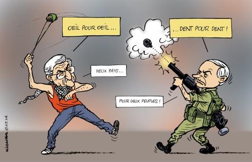 Israel Palestine juillet 2014