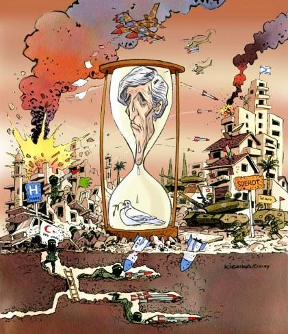 Kerry Hamas Israel 07.14