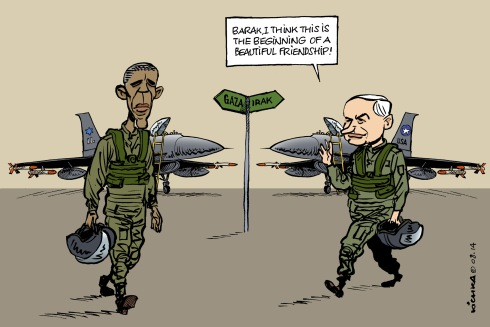 Bibi Barak Irak Gaza