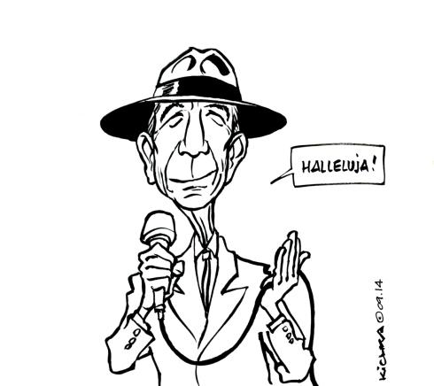 Leonard Cohen 80