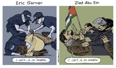 I can't breathe Eric Garner and ZiadAbu Ein