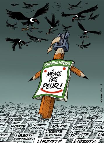 Même pas peur Hebdo 2015