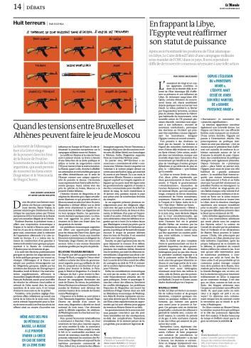 Le Monde 18.02.15
