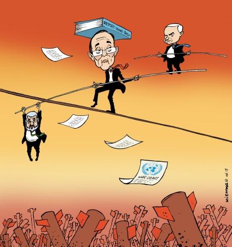 UN report israel-Gaza war 2014