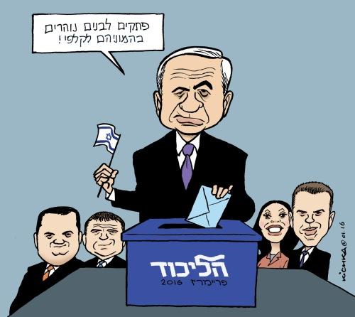 Likud primaries 2016