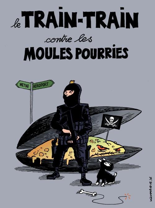 Belgique terreur