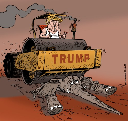 Trump Cleveland 2016