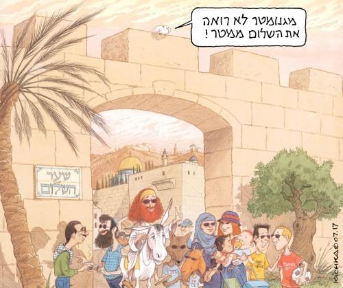 Jerusalem magnometer