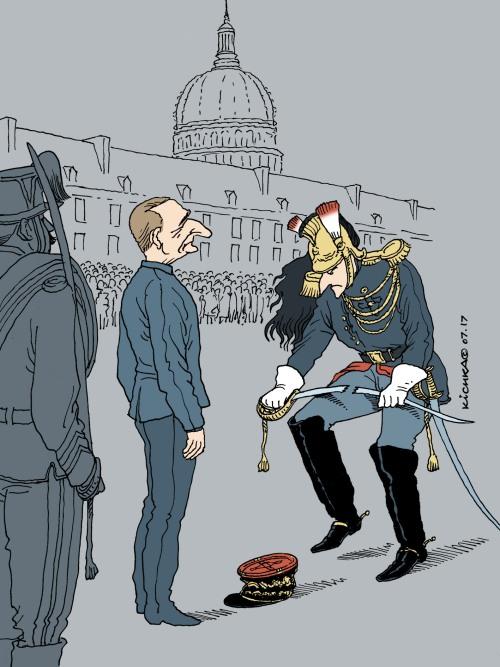 Macron & De Villiers