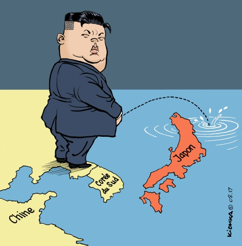 Kim Jong Un août 2017