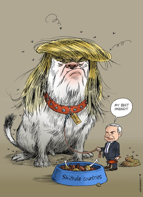 Bibi and Trump