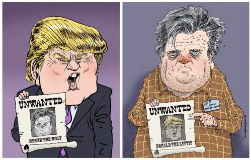 Trump vs Bannon 2018