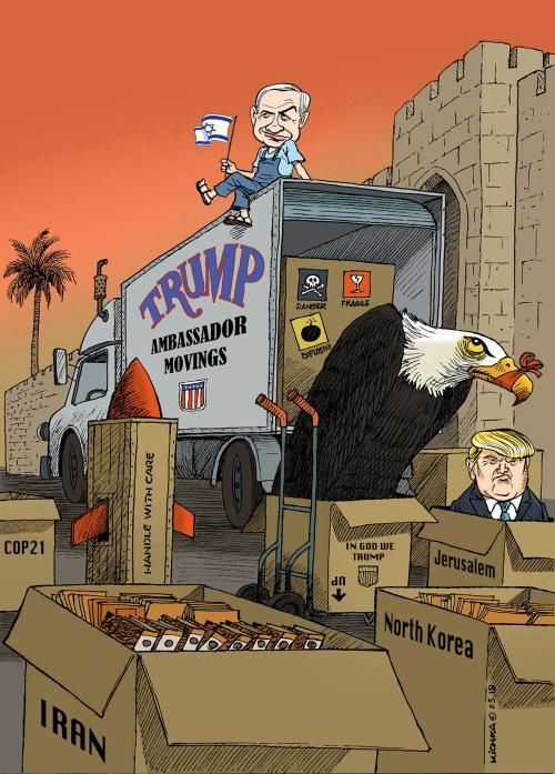 Jerusalem 70 Bibi Trump