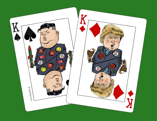 Trump Kim Kings