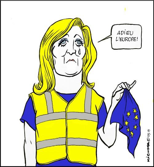 Le Pen UE
