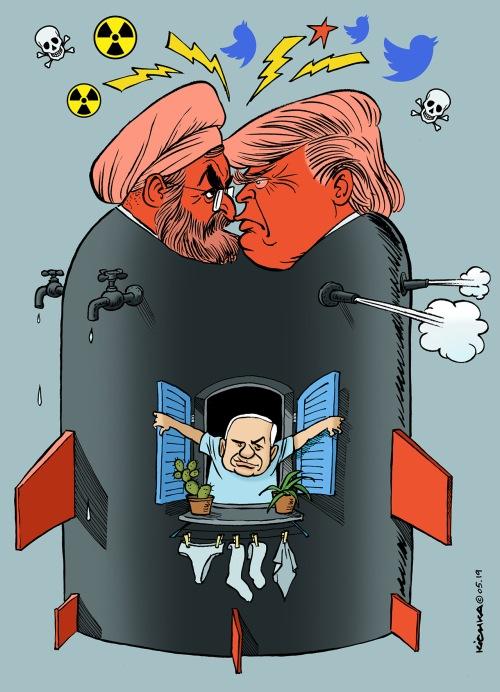 USA Iran & Bibi