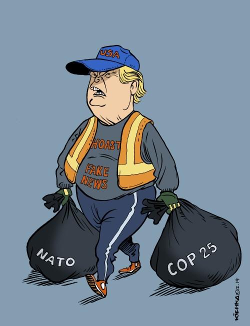 Trump NATO COP25