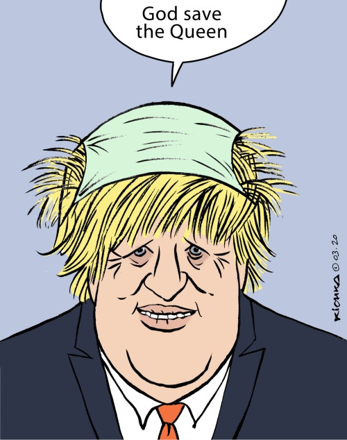Boris Johnson Corona